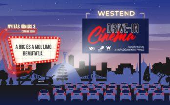 A Budapest Rooftop Cinema és MOL Limo bemutatja: Westend Drive-In Cinema