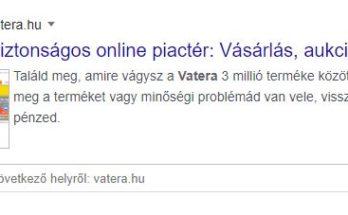 Online Piactér vatera -euroastra.hu
