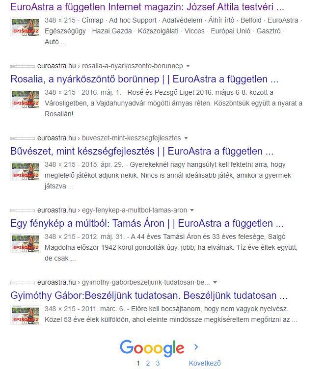 Pina a Facebookon 12 napja - Euroastra.hu