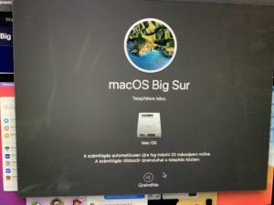 Lefagynak a régebbi MacBookok a Big Sur frissítéstől